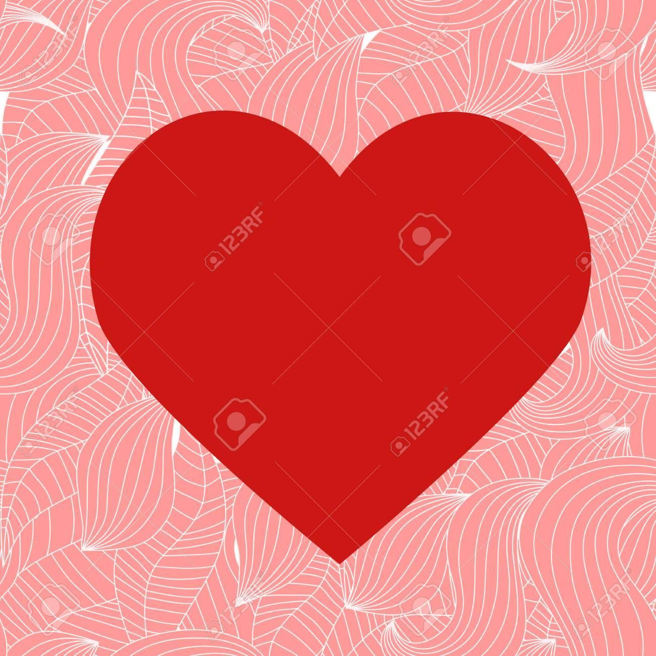 Seamless valentine pattern Stock Vector - 10495808