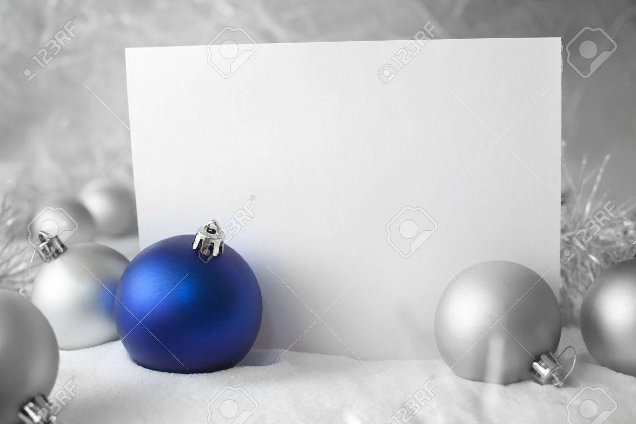 blue christmas ball Stock Photo - 11564368