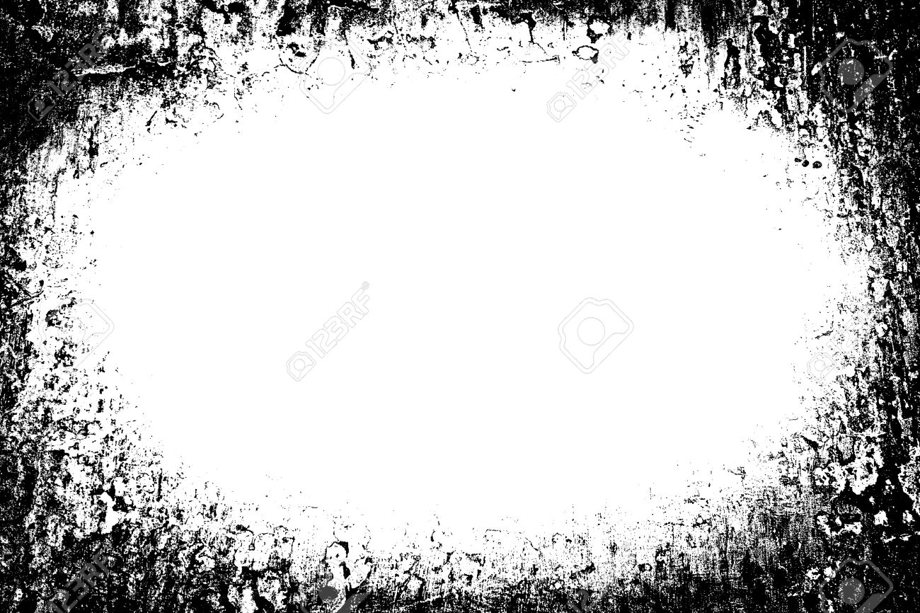 Black And White Grunge Frames Stock Photo, Picture And Royalty Free ...