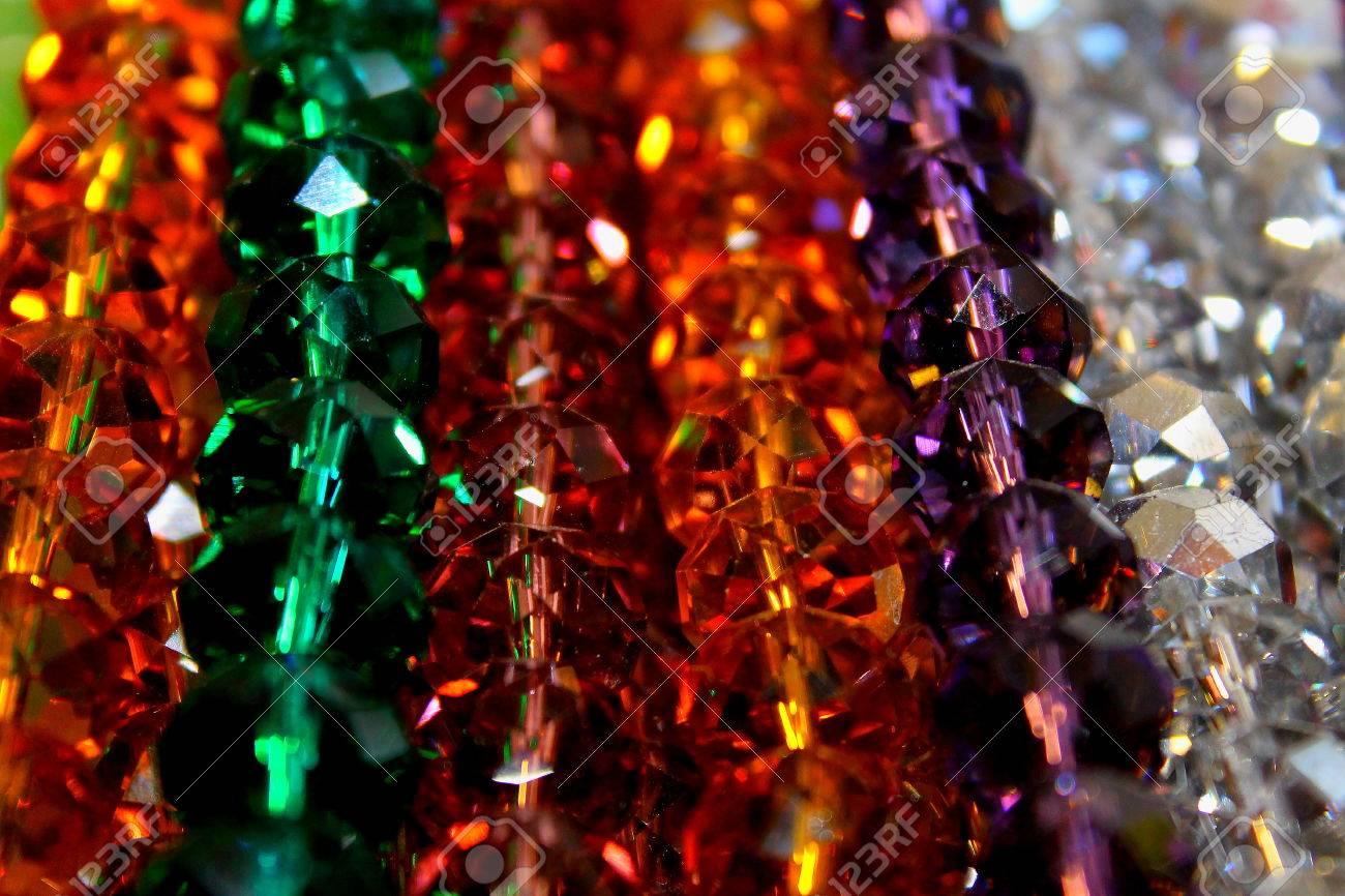 cristales de colores foto de archivo