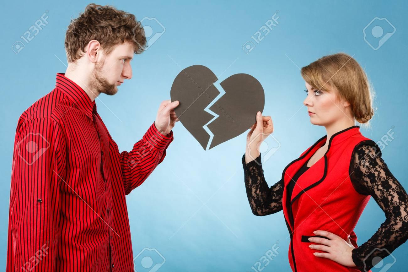 romper y dejar en su relación las emociones negativas entre las