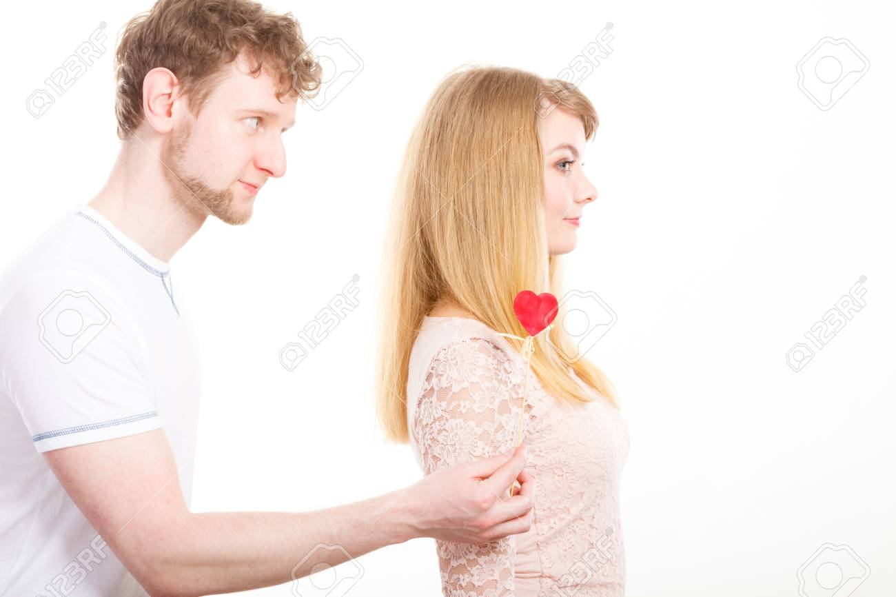 Feelings After Argument In Relationship Lovers In Argue Woman