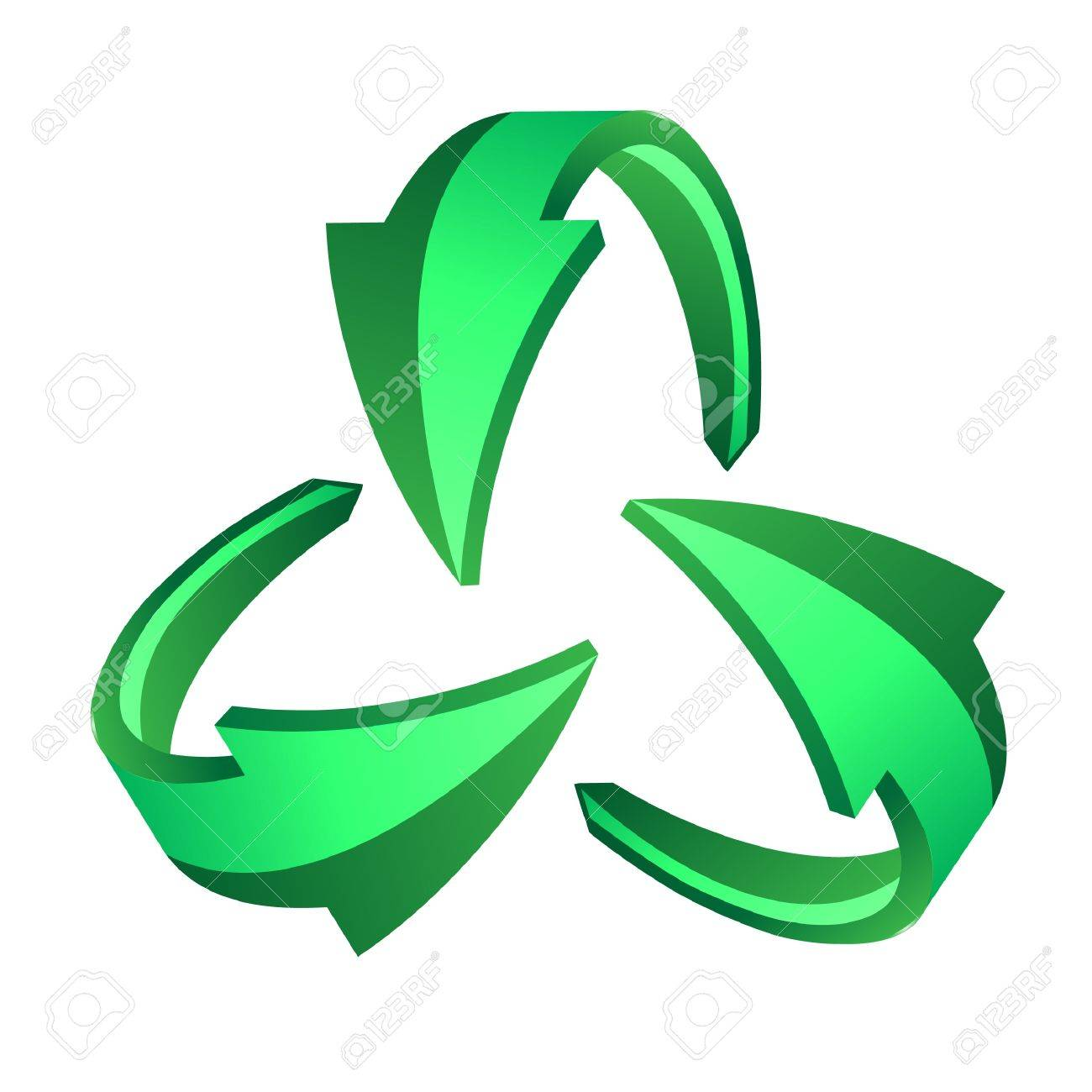 Recycle arrows, recycle symbol Stock Vector - 12151217