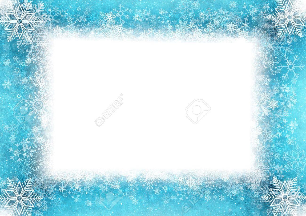 Blue Christmas card Stock Photo - 15744485