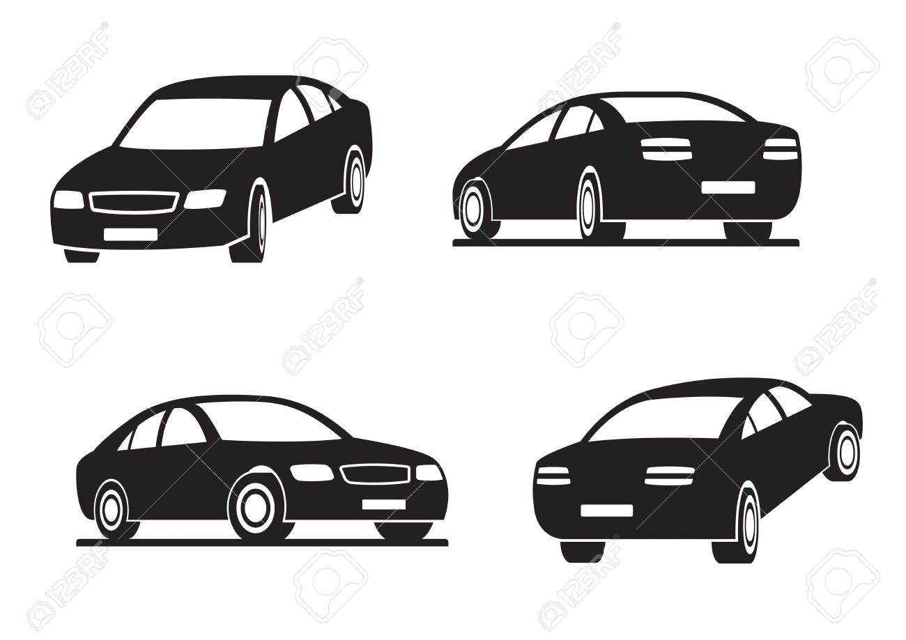 Cars in perspective Stock Vector - 14164827