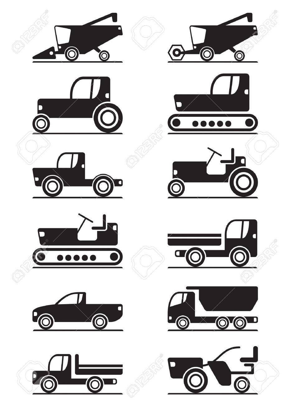 Agricultural machinery illustration Stock Vector - 14248665