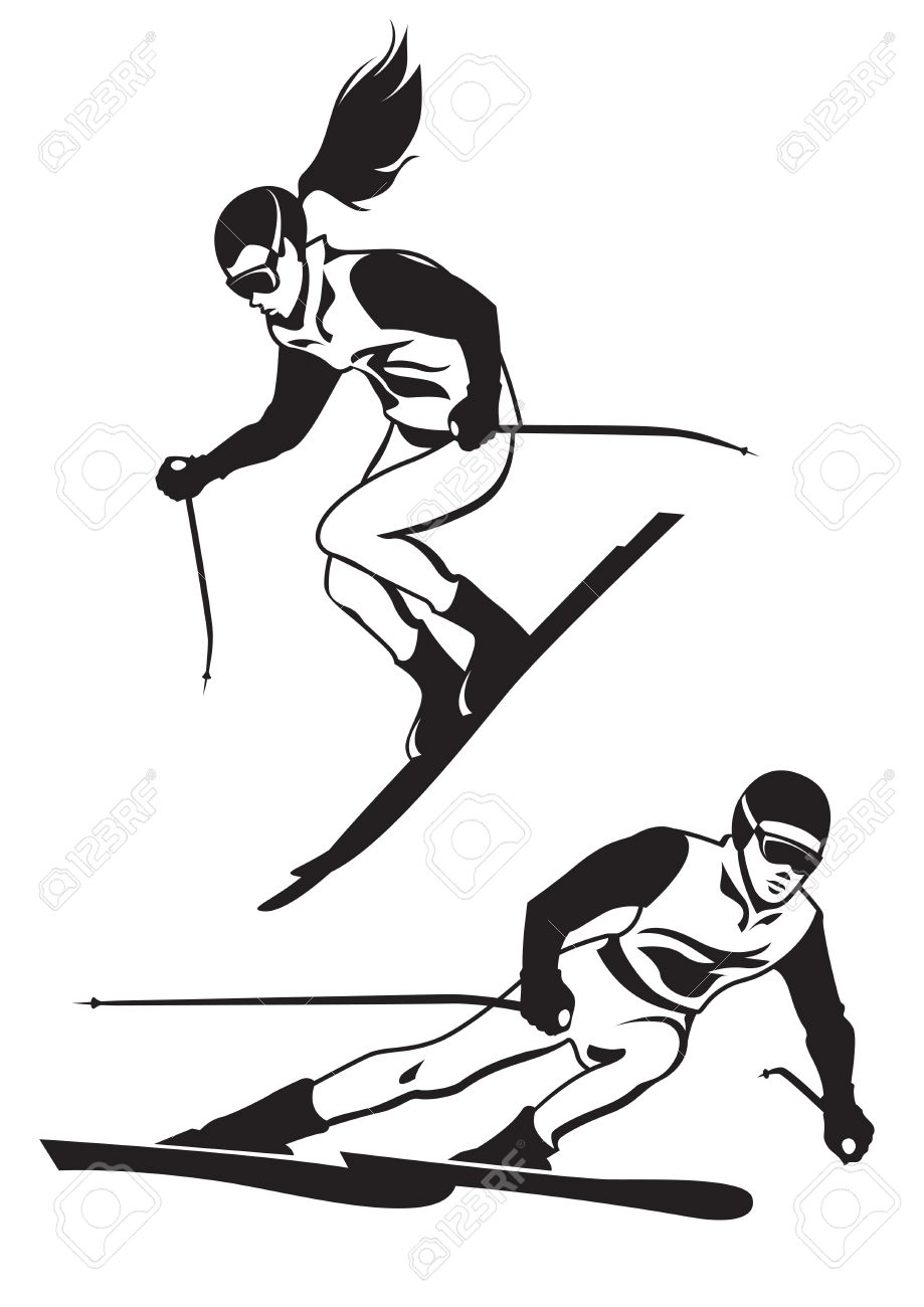 413 Skiing Helmet Stock Vector Illustration And Royalty Free ...