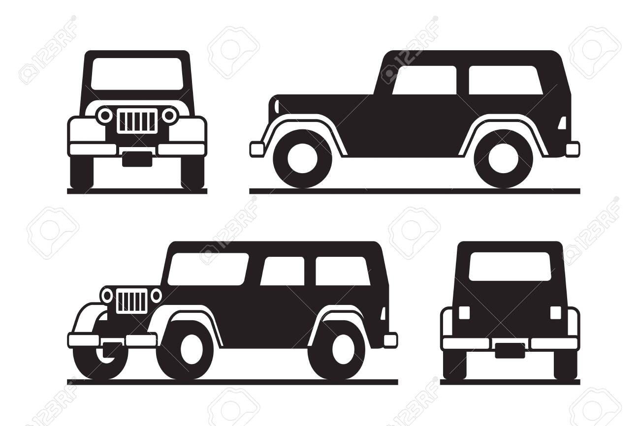 Off road vehicle in perspective - 147736466