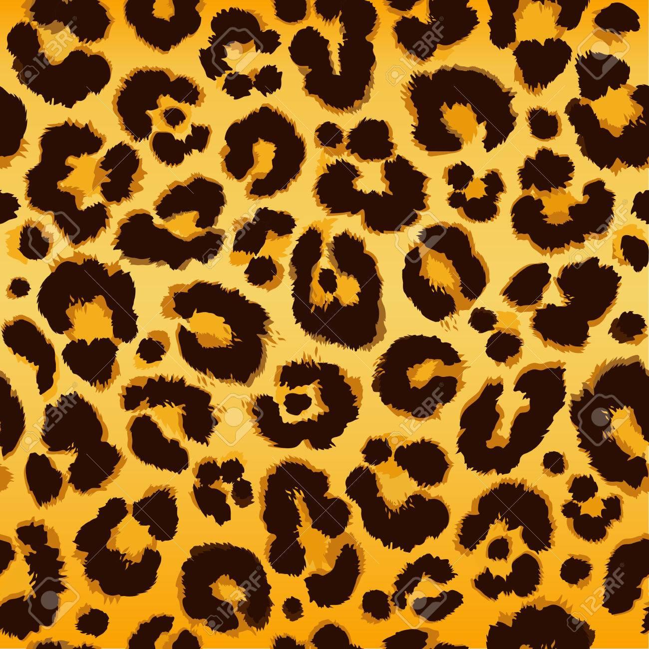 Seamless leopard pattern. Vector. - 67305278