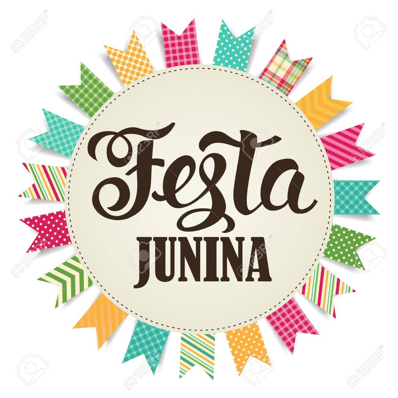 Festa Junina illustration. Vector banner. Latin American holiday. - 74791453