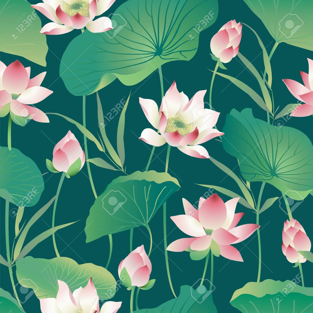 Flower pattern. - 86915502