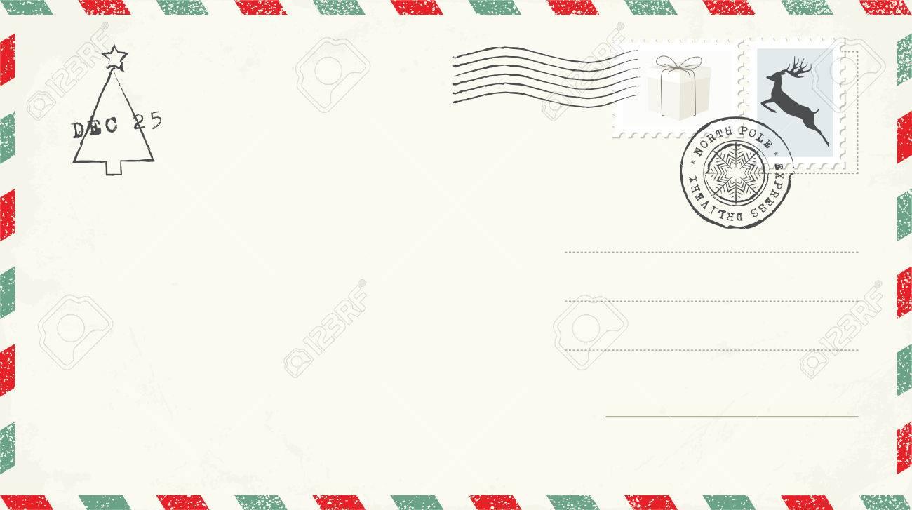 Christmas Postcards.Blank Christmas Postcard