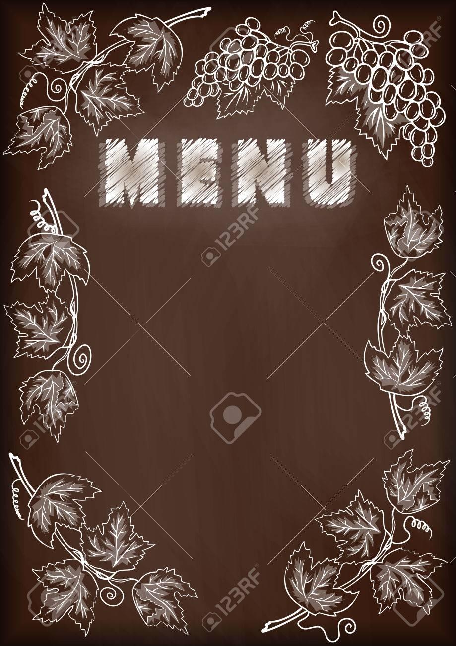 Magnífico Tarjeta De Tiza Marco De Imagen Foto - Ideas de Arte ...