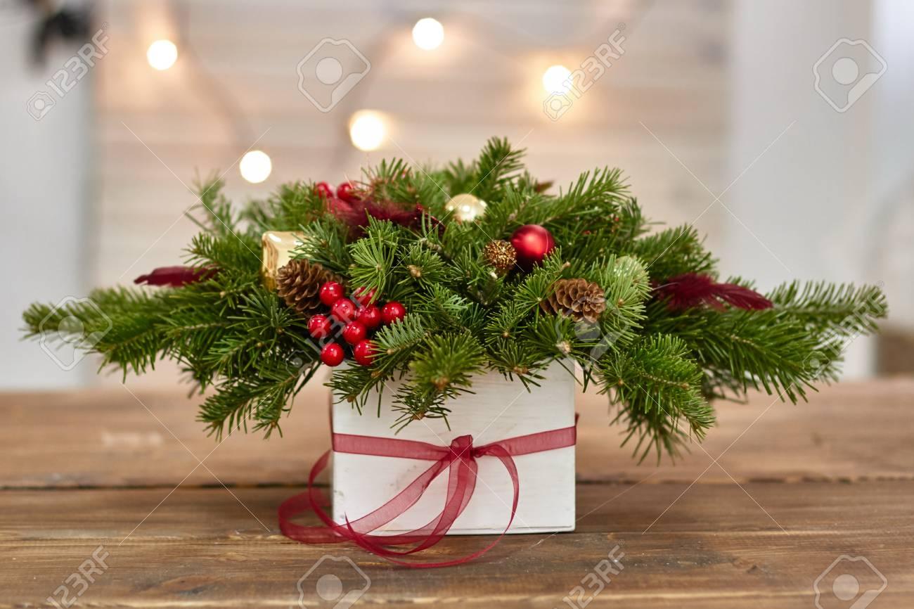 Hersteller Von Weihnachtsdekor Mit Ihren Eigenen Händen. Christmas ...