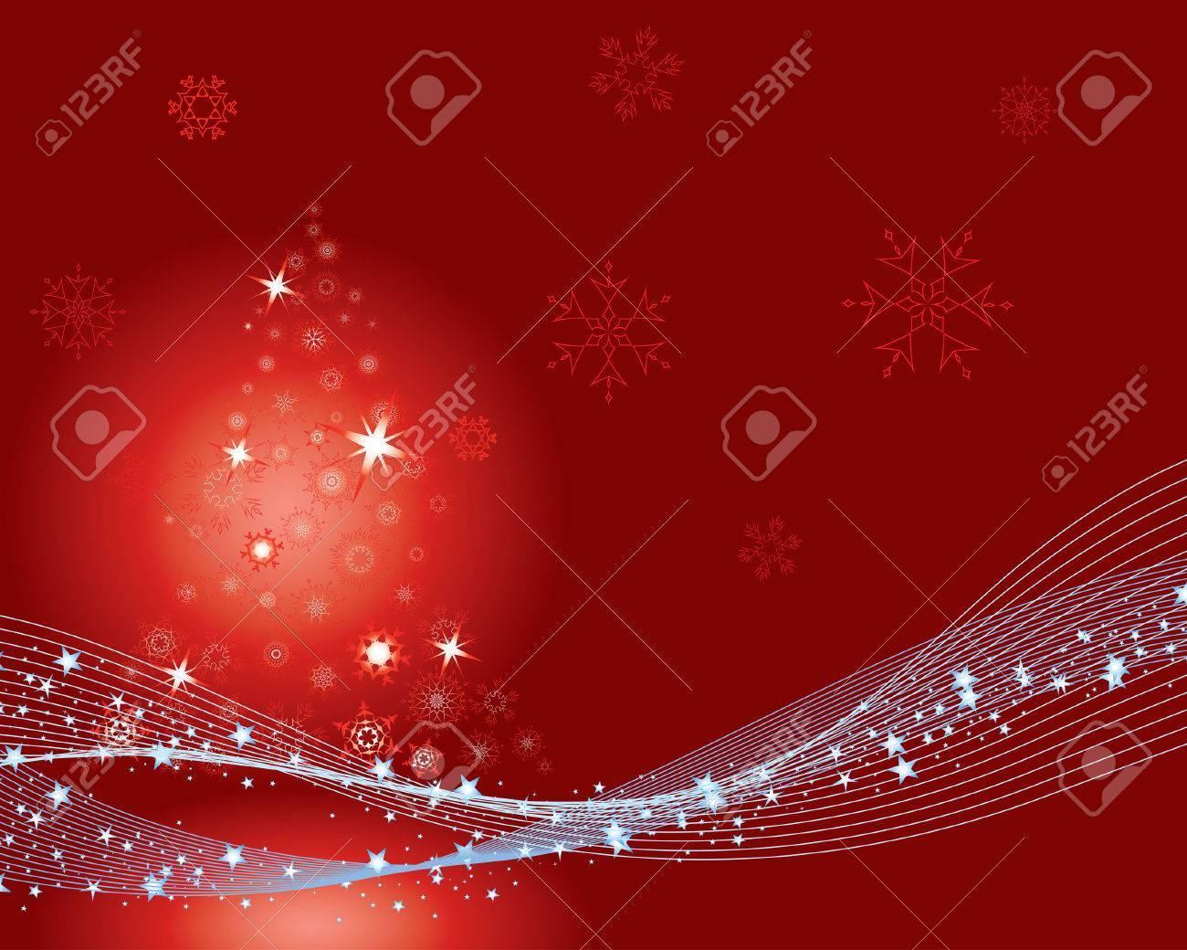 Christmas (New Year) greeting postcard. Vector illustration. Stock Vector - 3966200