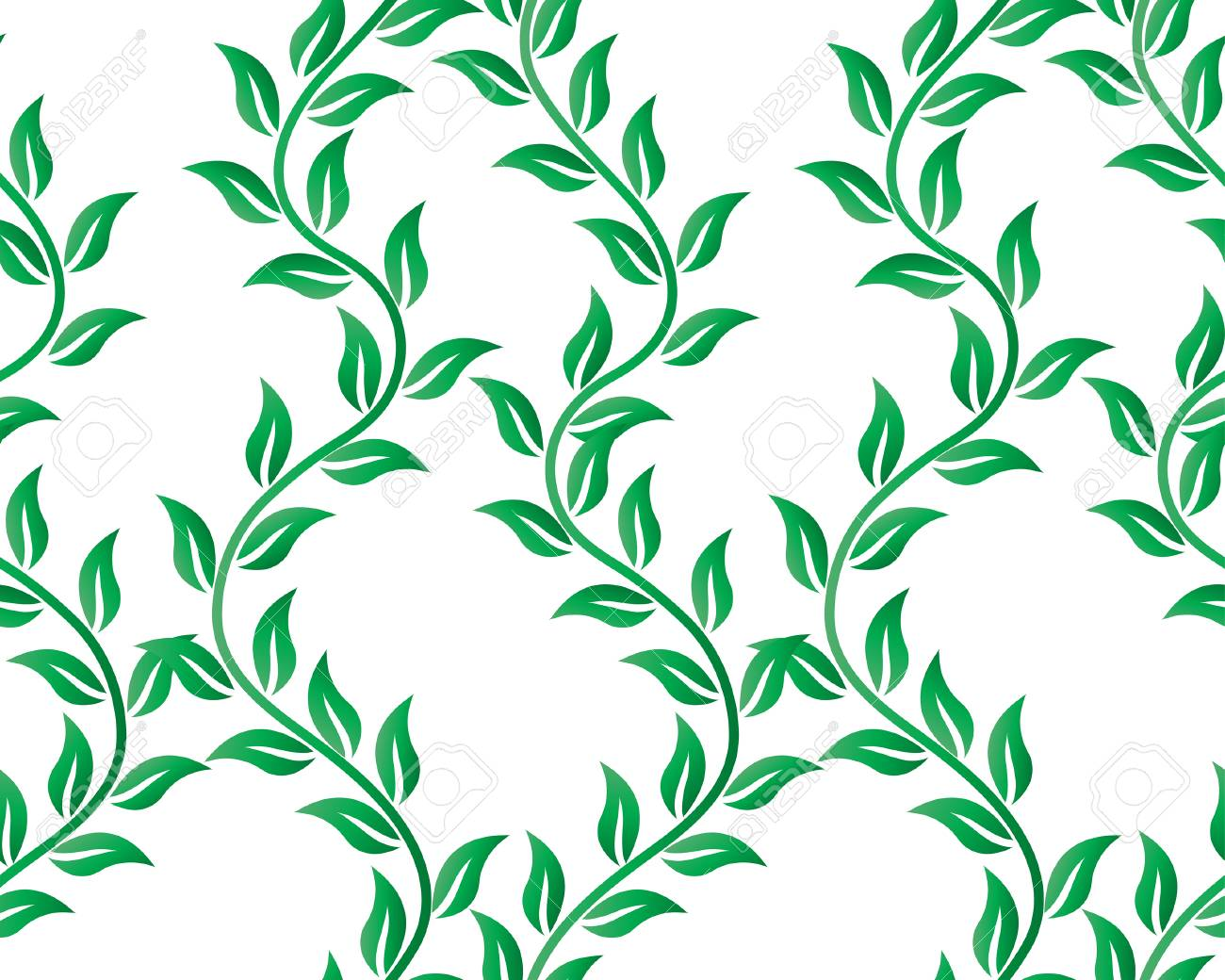Floral seamless background for yours design use. For easy making seamless pattern just drag all group into swatches bar, and use it for filling any contours. Stock Vector - 4343306