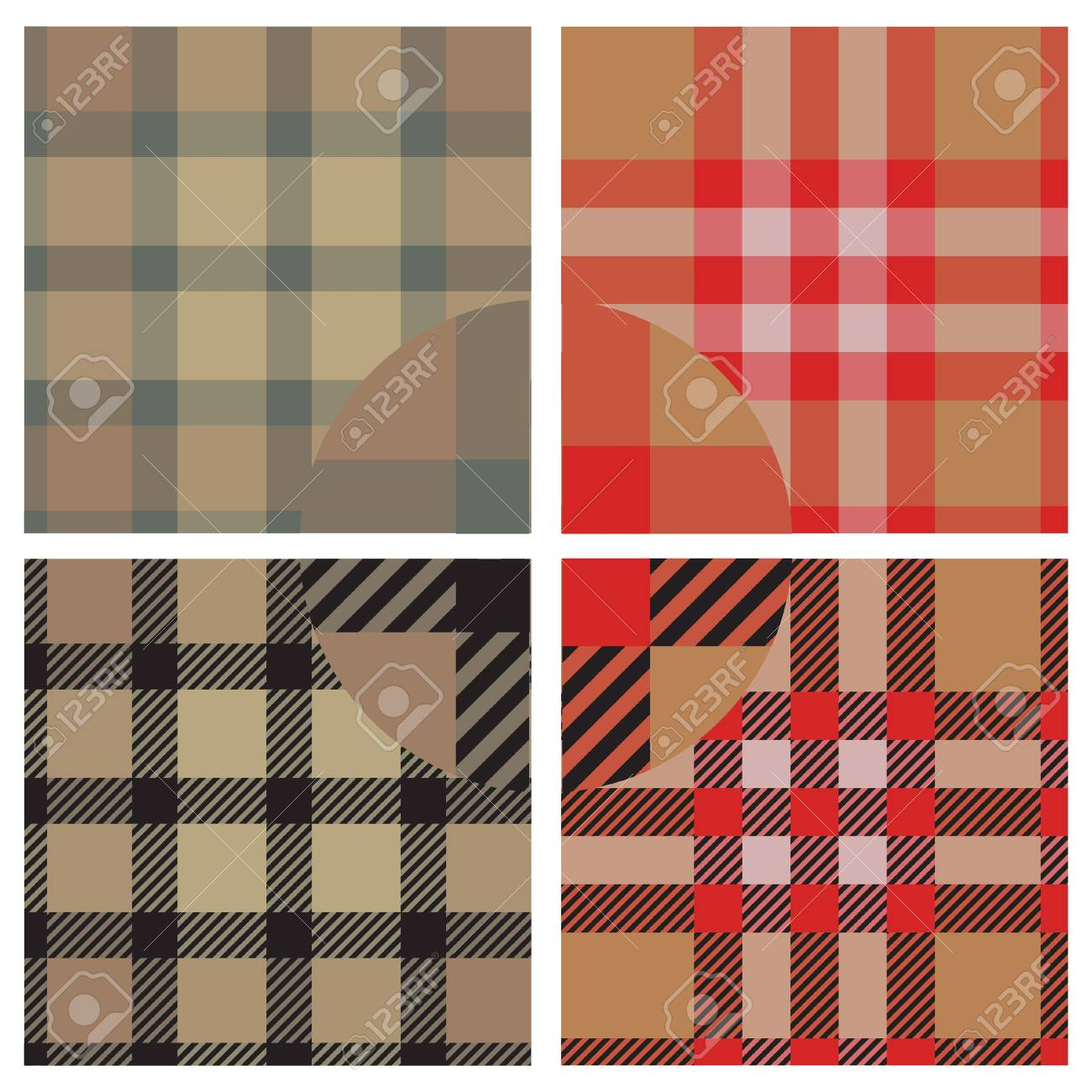 Textile vector seamless pattern for design use Stock Vector - 4818084