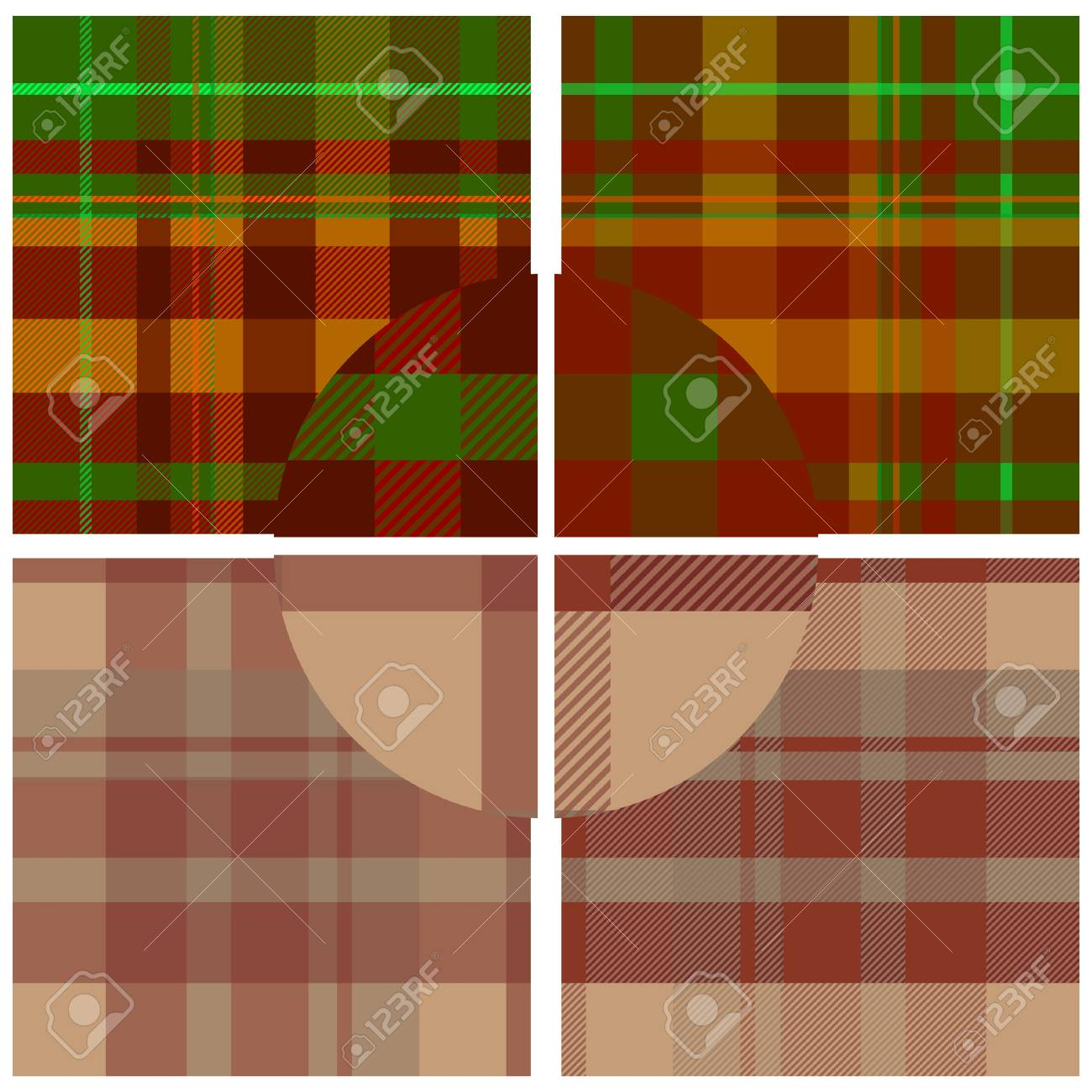 Textile vector seamless pattern for design use Stock Vector - 4818086