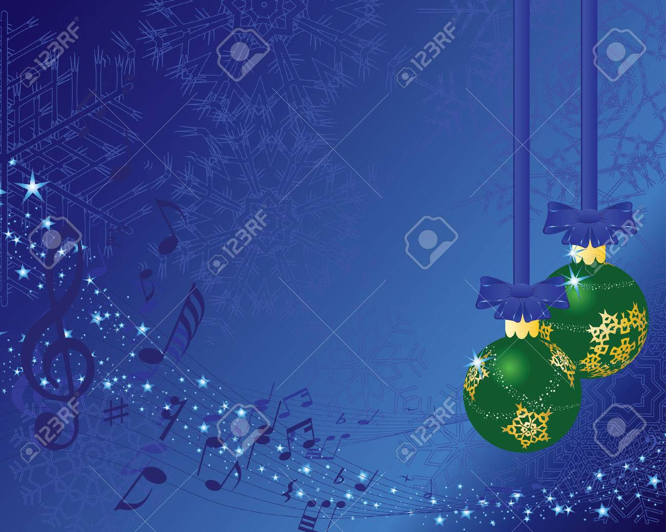 Beautiful vector christmas new year background for design use - Beautiful Vector Christmas New Year Background For Design Use Stock Vector 5634774