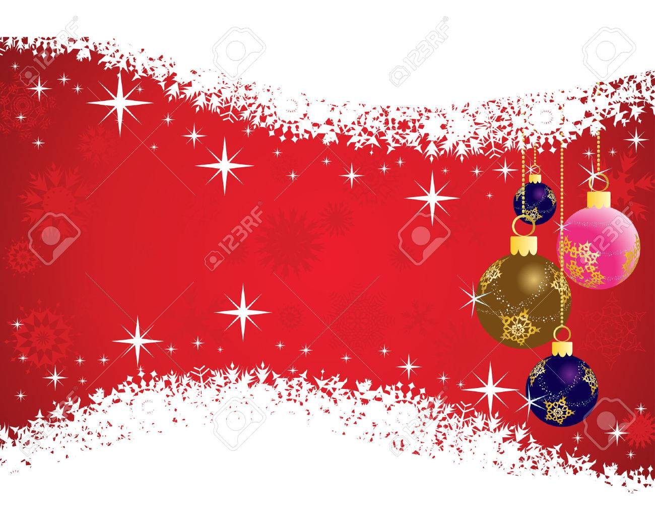 Beautiful vector christmas new year background for design use - Beautiful Vector Christmas New Year Background For Design Use Stock Vector 5669438