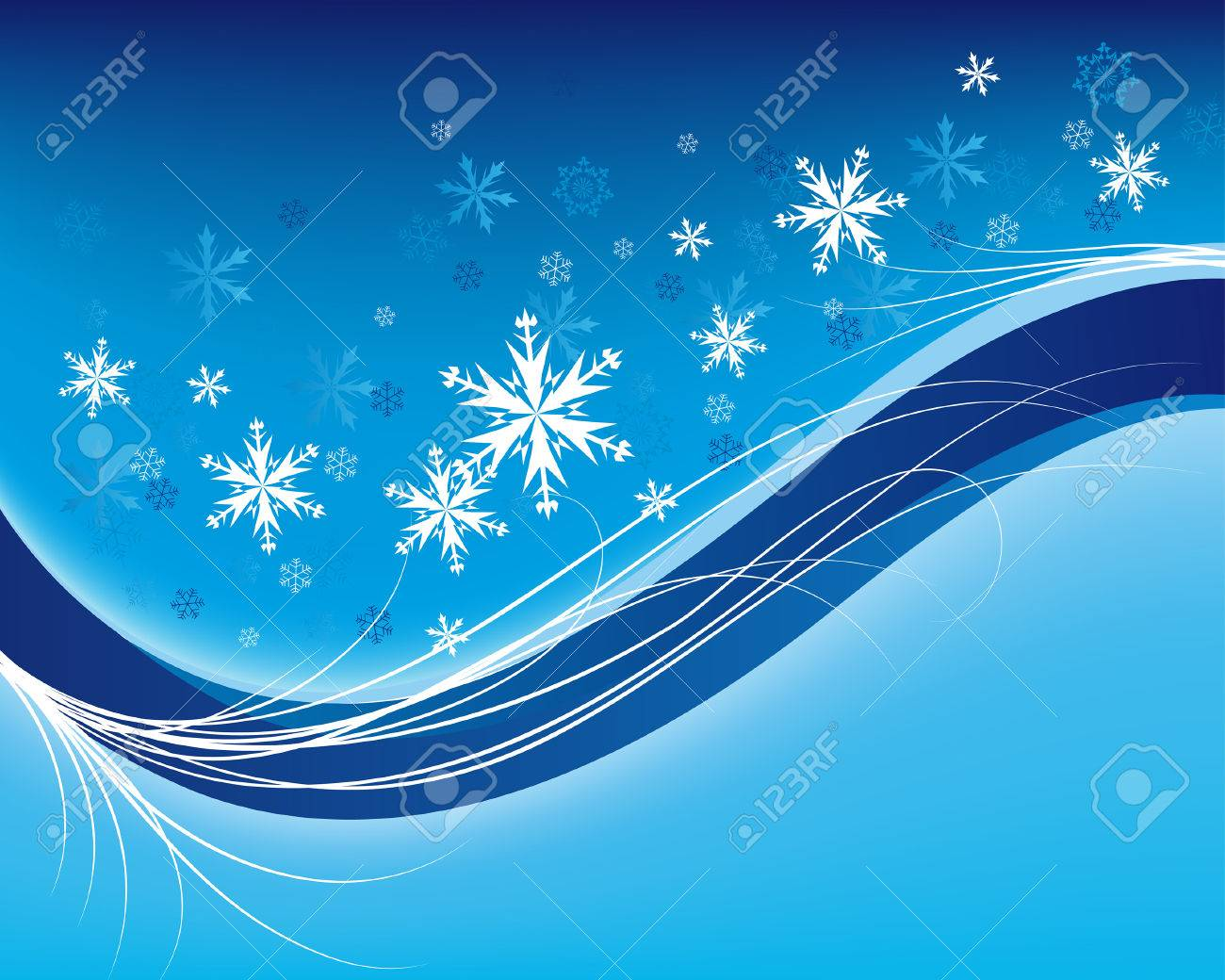 Beautiful vector christmas new year background for design use - Beautiful Vector Christmas New Year Background For Design Use Stock Vector 5680544