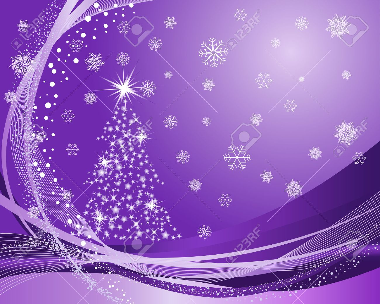 Beautiful vector christmas new year background for design use - Beautiful Vector Christmas New Year Background For Design Use Stock Vector 5804439
