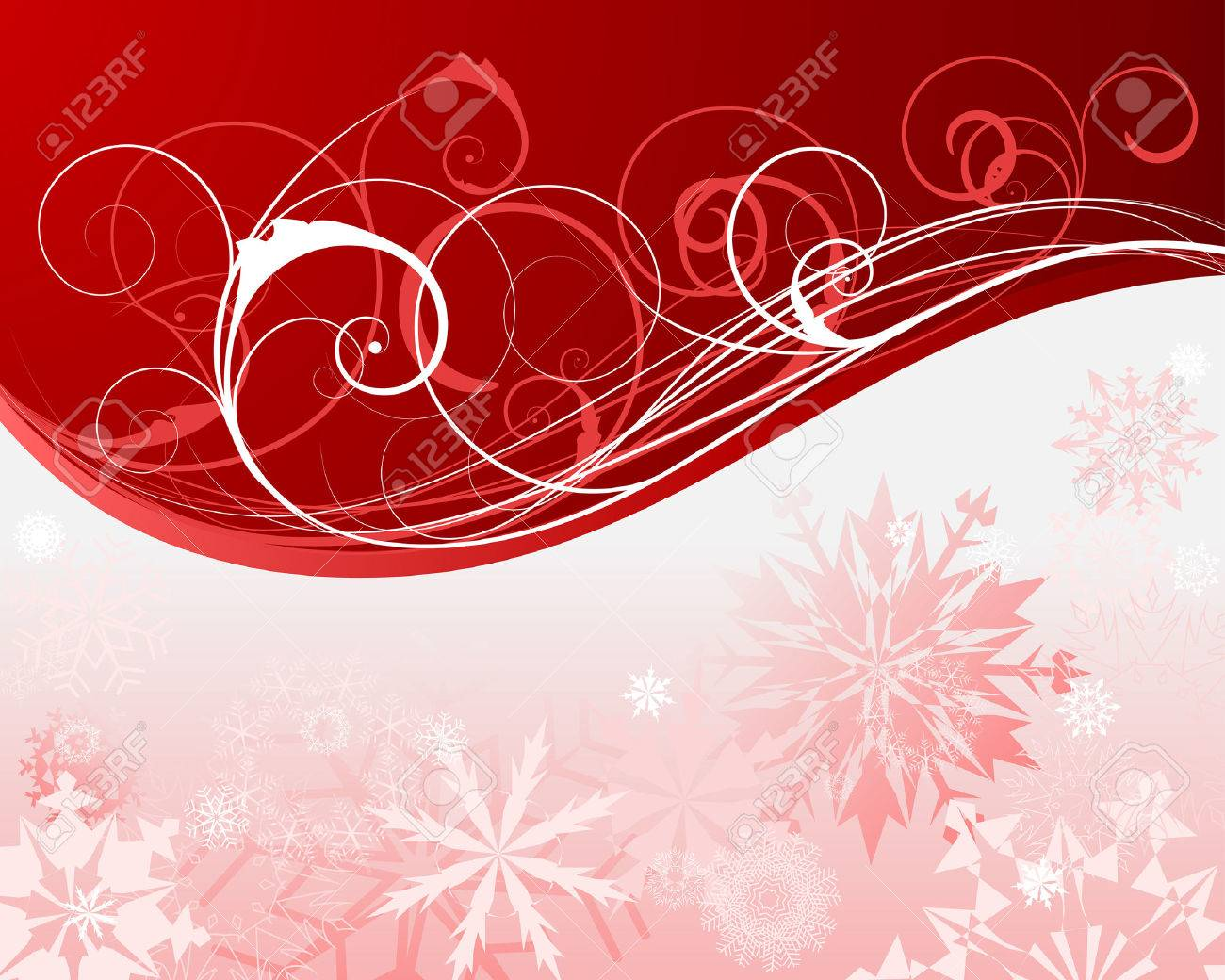 Beautiful vector christmas new year background for design use - Beautiful Vector Christmas New Year Background For Design Use Stock Vector 5804632