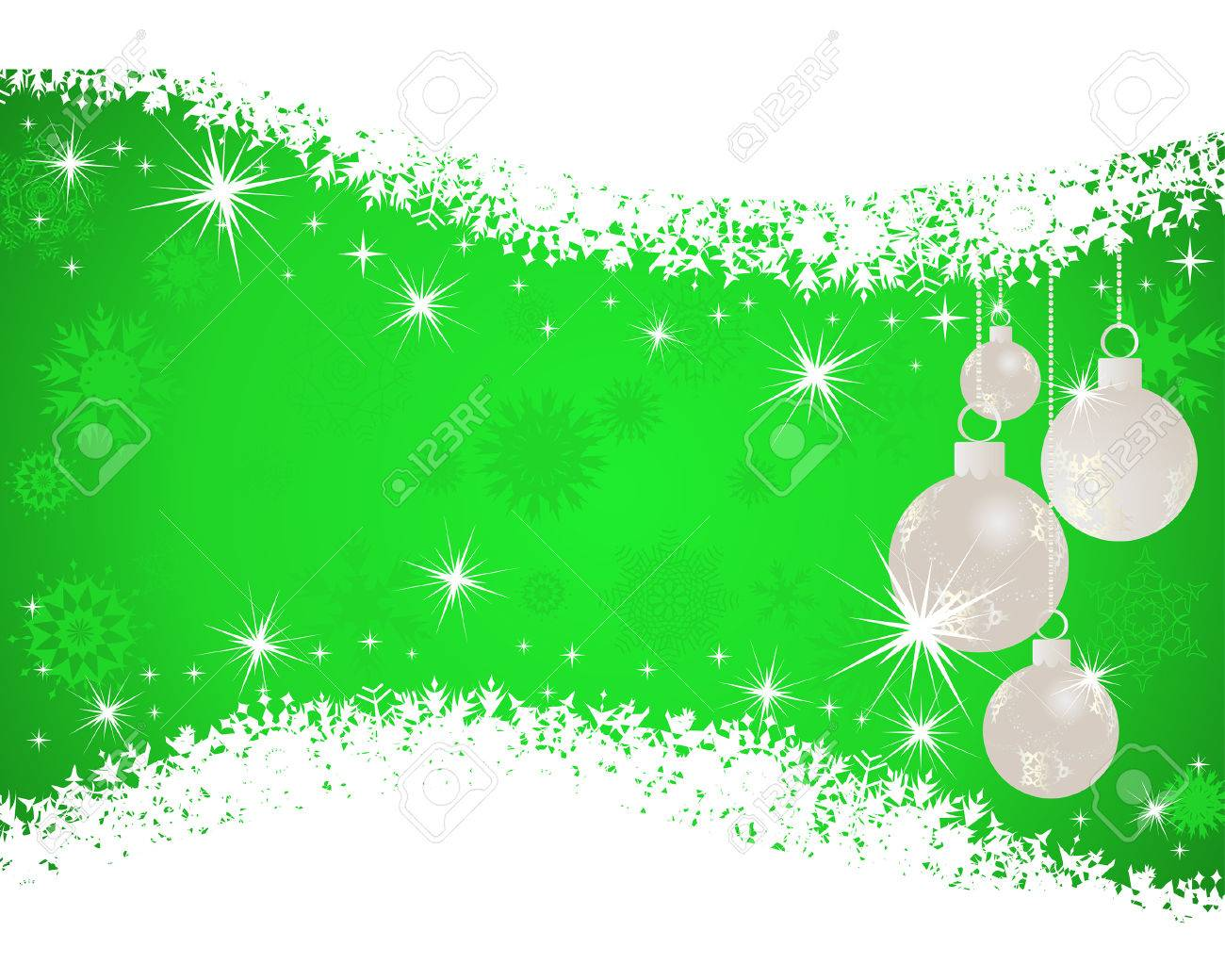 Beautiful vector christmas new year background for design use - Beautiful Vector Christmas New Year Background For Design Use Stock Vector 5804630