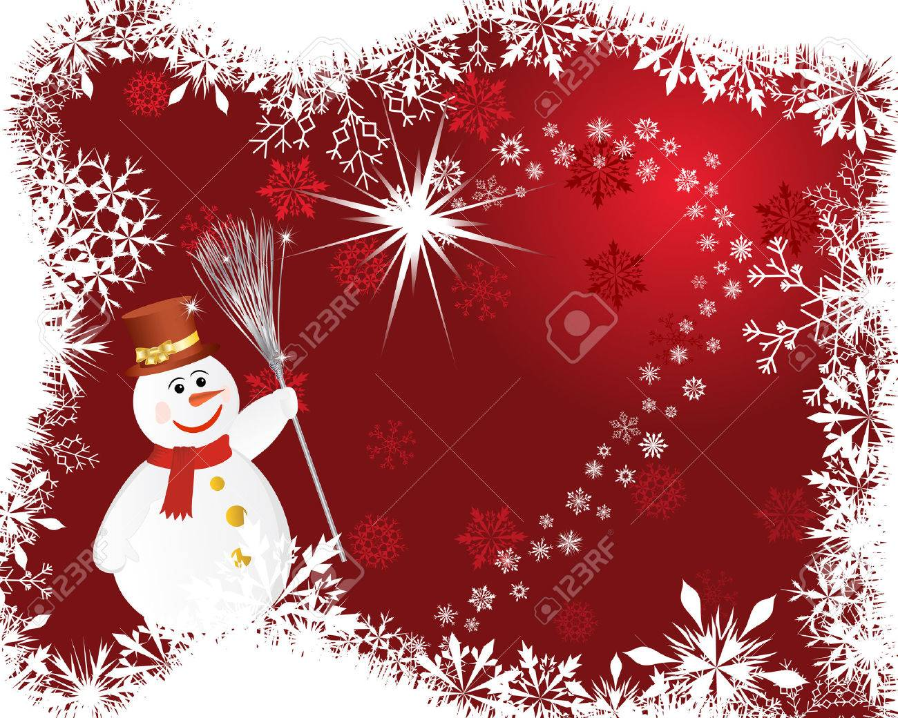Beautiful vector christmas new year background for design use - Beautiful Vector Christmas New Year Background For Design Use Stock Vector 5868469