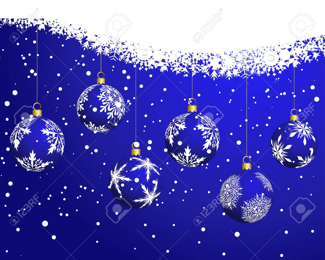 Beautiful vector christmas new year background for design use - Beautiful Vector Christmas New Year Background For Design Use Stock Vector 5868432