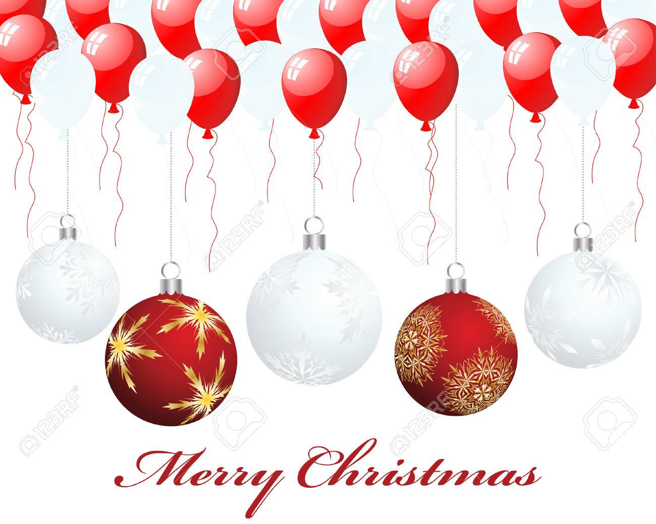 Beautiful vector christmas new year background for design use - Beautiful Vector Christmas New Year Background For Design Use Stock Vector 5868425