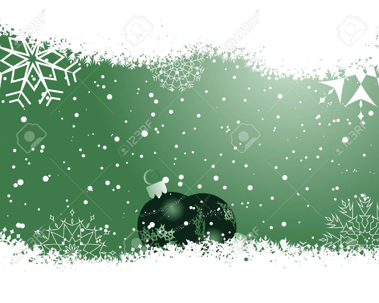 Beautiful vector Christmas (New Year) background for design use Stock Vector - 5910807