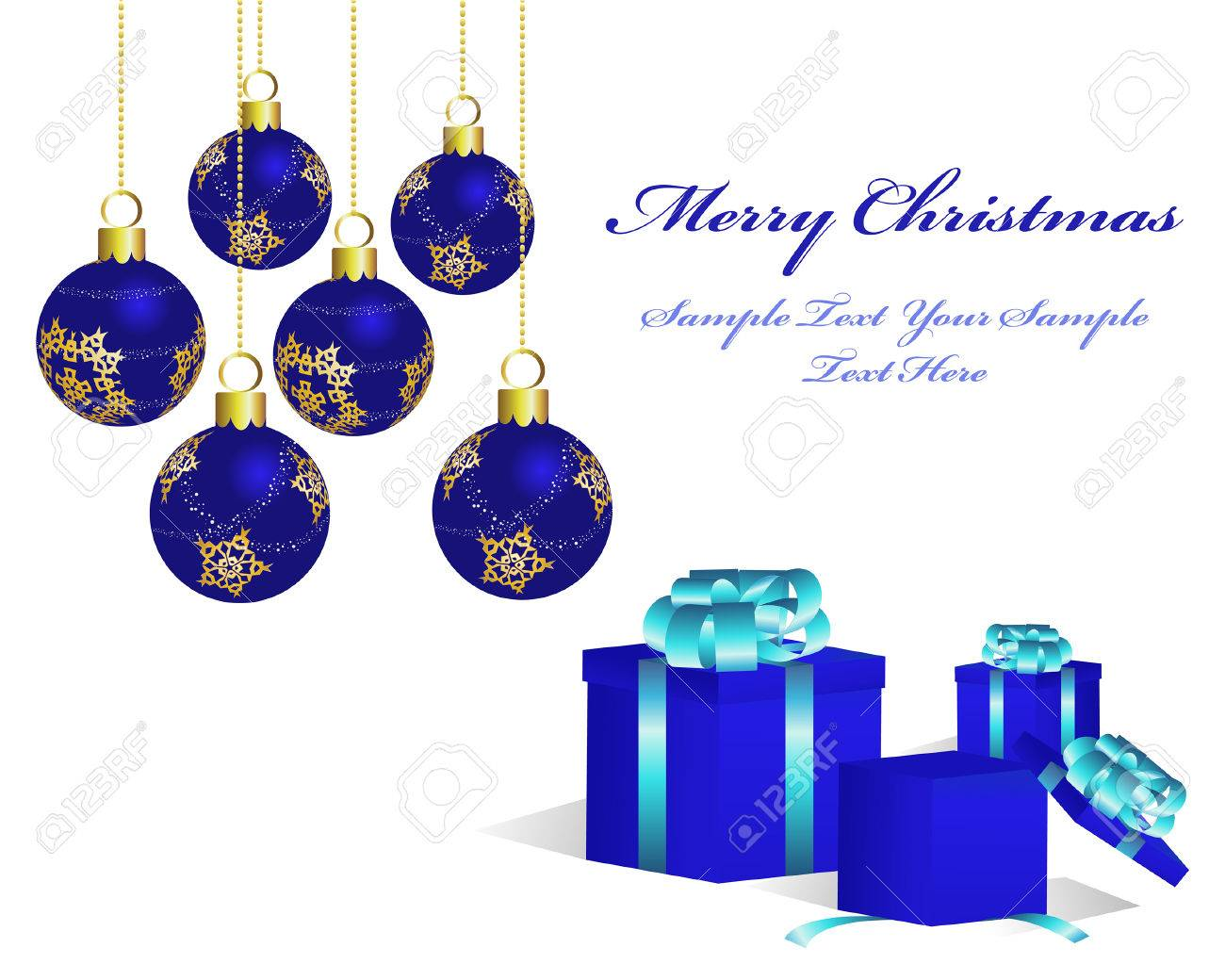 Beautiful vector christmas new year background for design use - Beautiful Vector Christmas New Year Background For Design Use Stock Vector 5935372