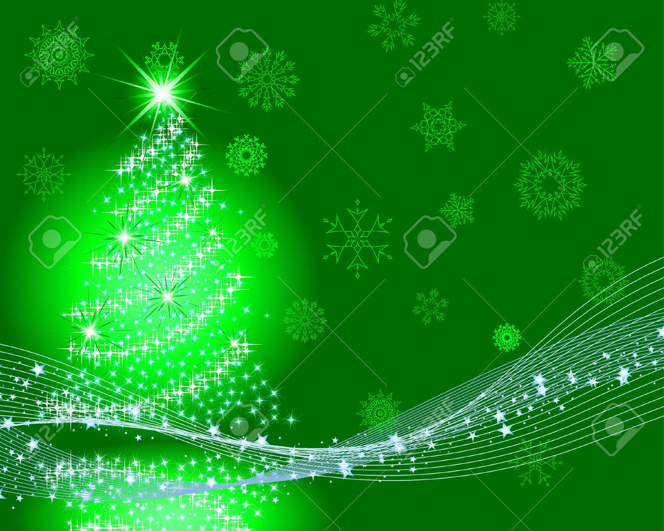 beautiful vector christmas new year background for design use stock vector 6052318