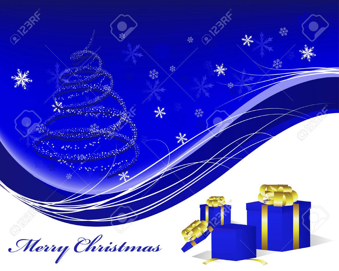 Beautiful vector christmas new year background for design use - Beautiful Vector Christmas New Year Background For Design Use Stock Vector 6071210