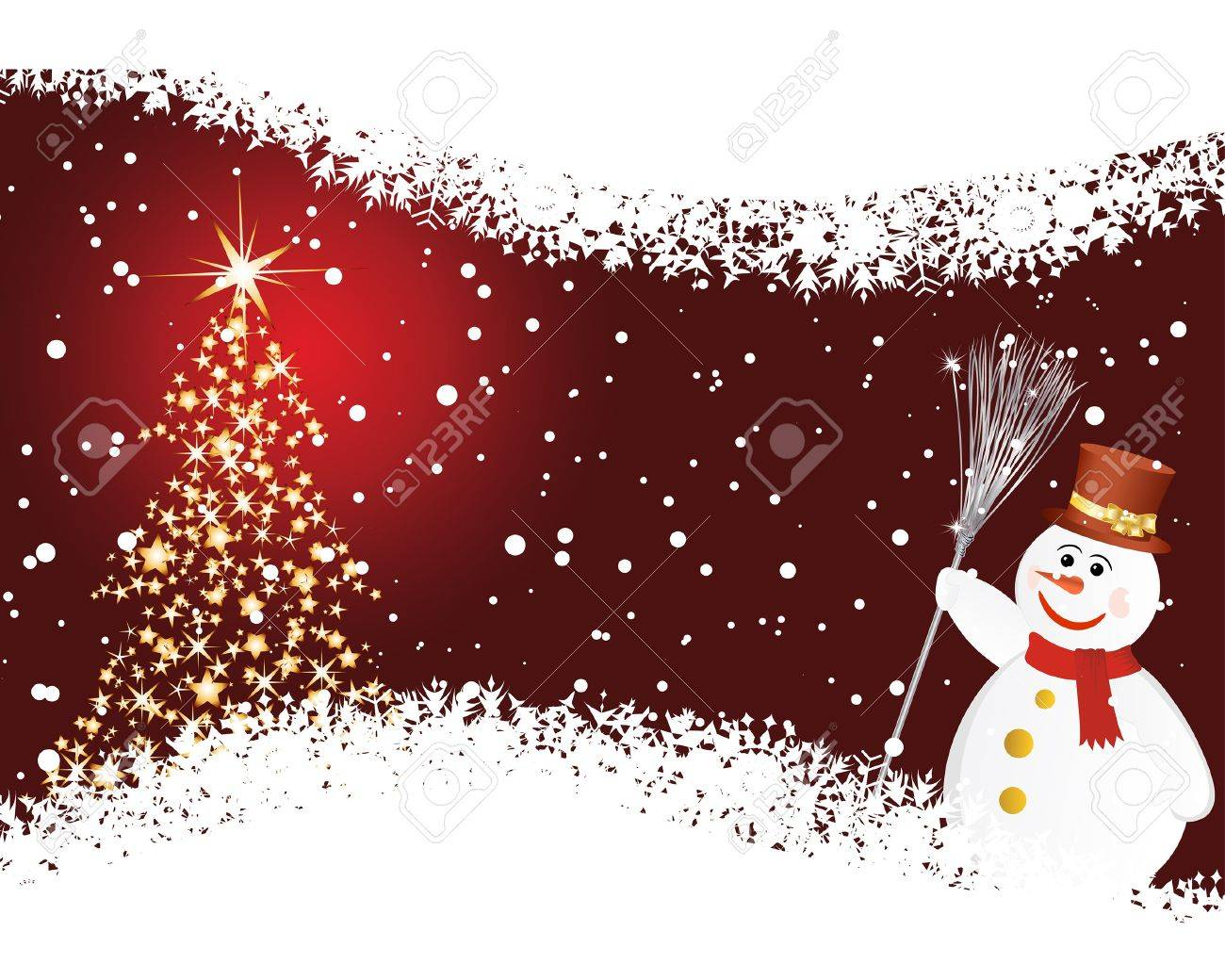 Beautiful  Christmas (New Year) background for design use Stock Vector - 7296282