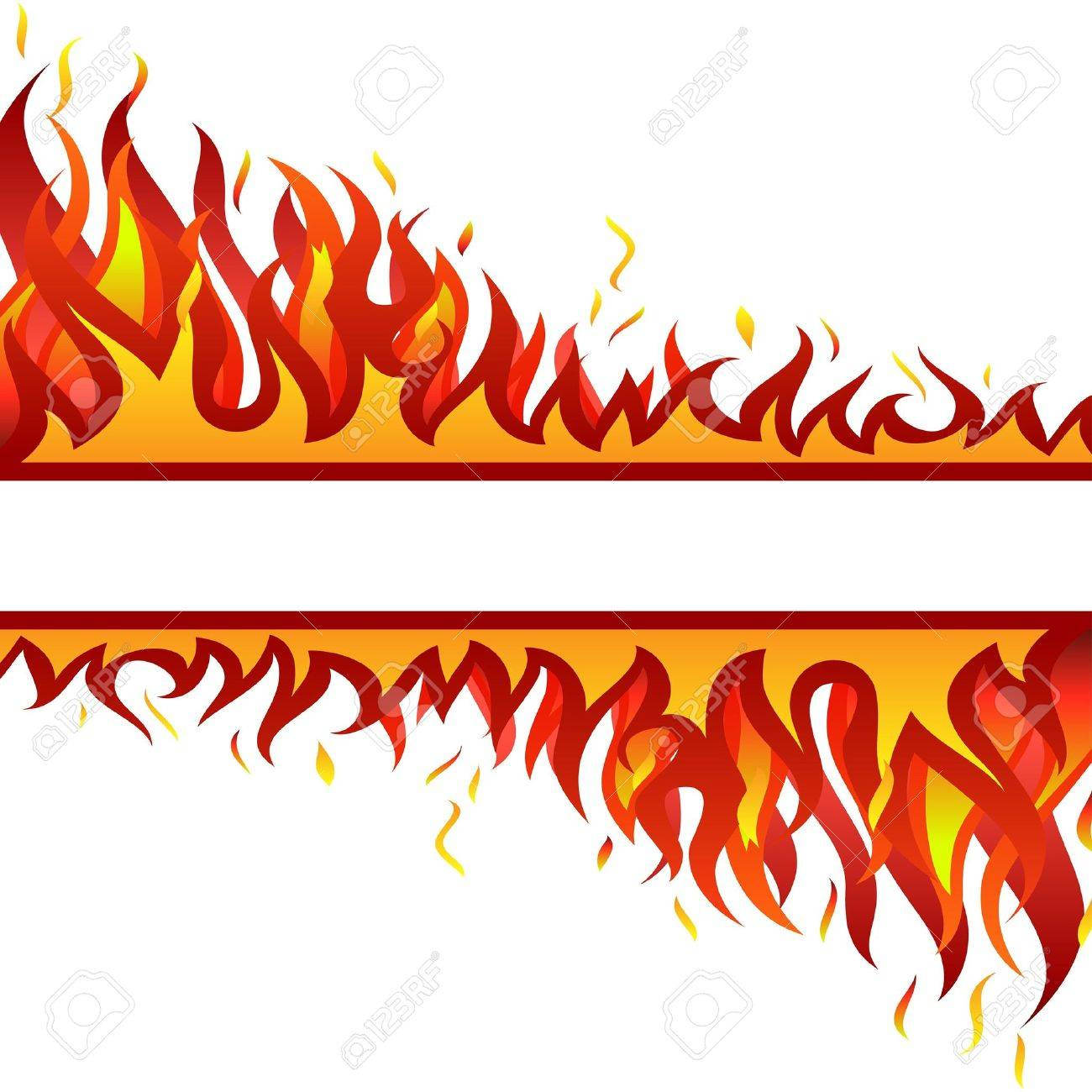 Inferno fire background for design use Stock Vector - 7296197