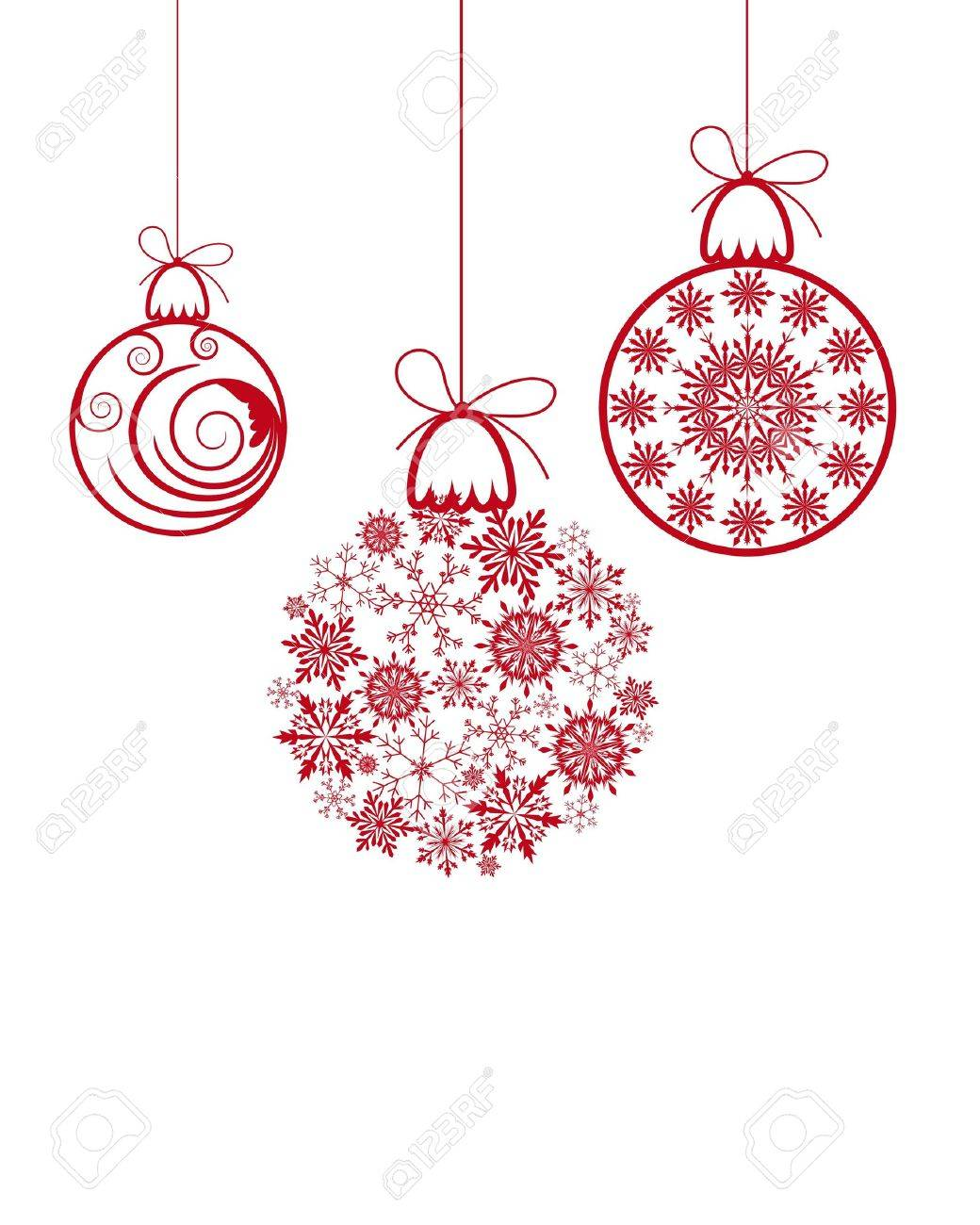 Beautiful Christmas (New Year) background for design use Stock Vector - 7524371