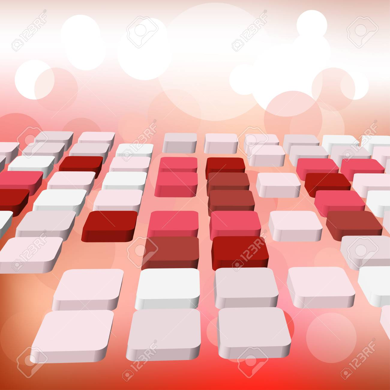Abstract technology background for use in web design. Vector illustration. Stock Vector - 8881962