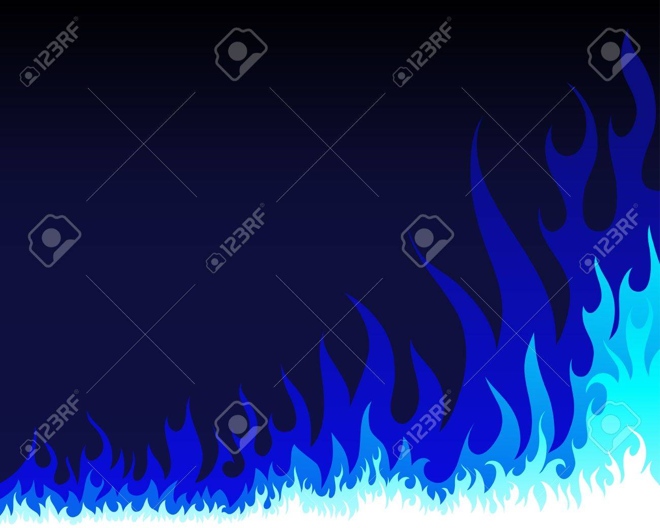 Inferno fire vector background for design use Stock Vector - 9278532