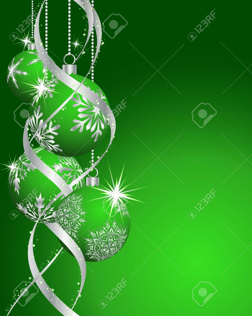 Beautiful vector christmas new year background for design use - Beautiful Christmas New Year Card For Design Use Stock Vector 11601566