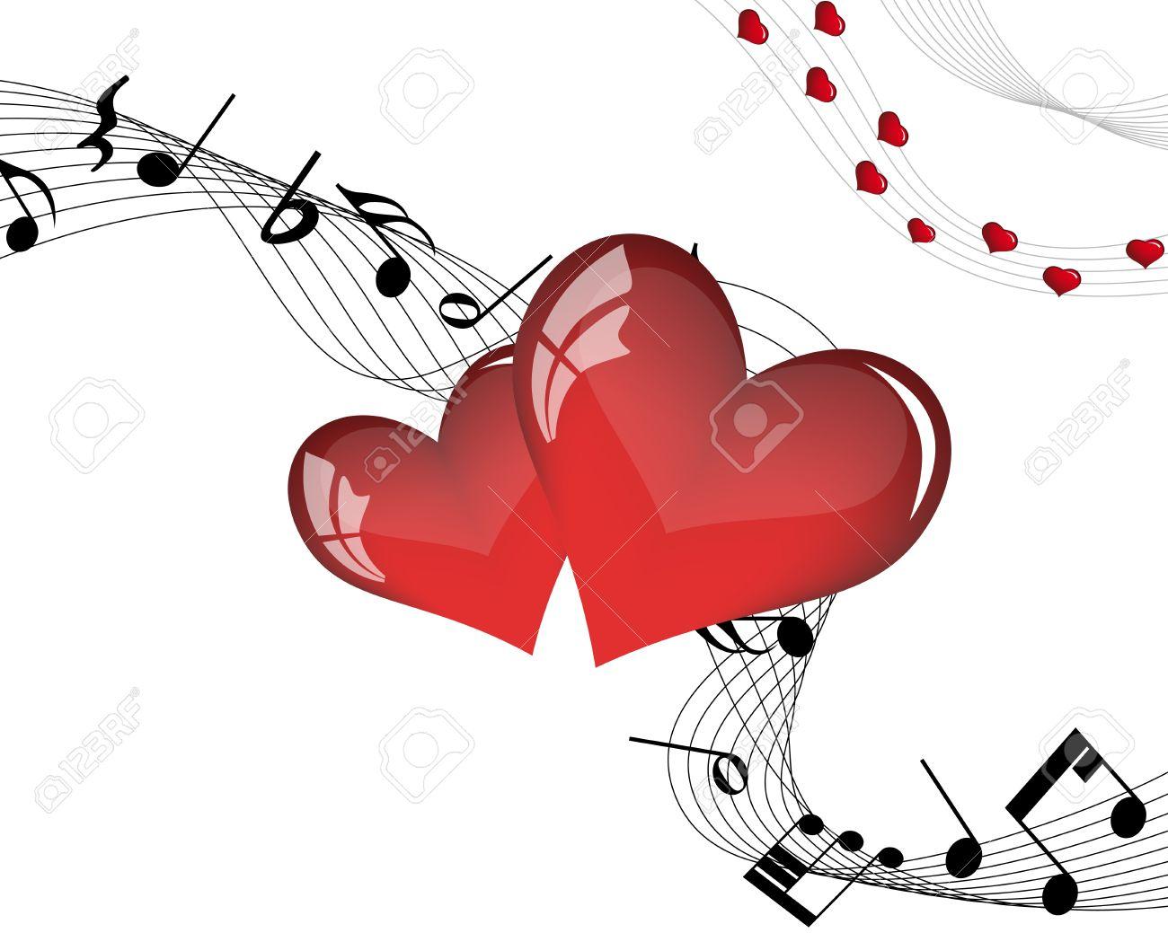 Abstract Valentine days background frame. Vector illustration. - 12284781