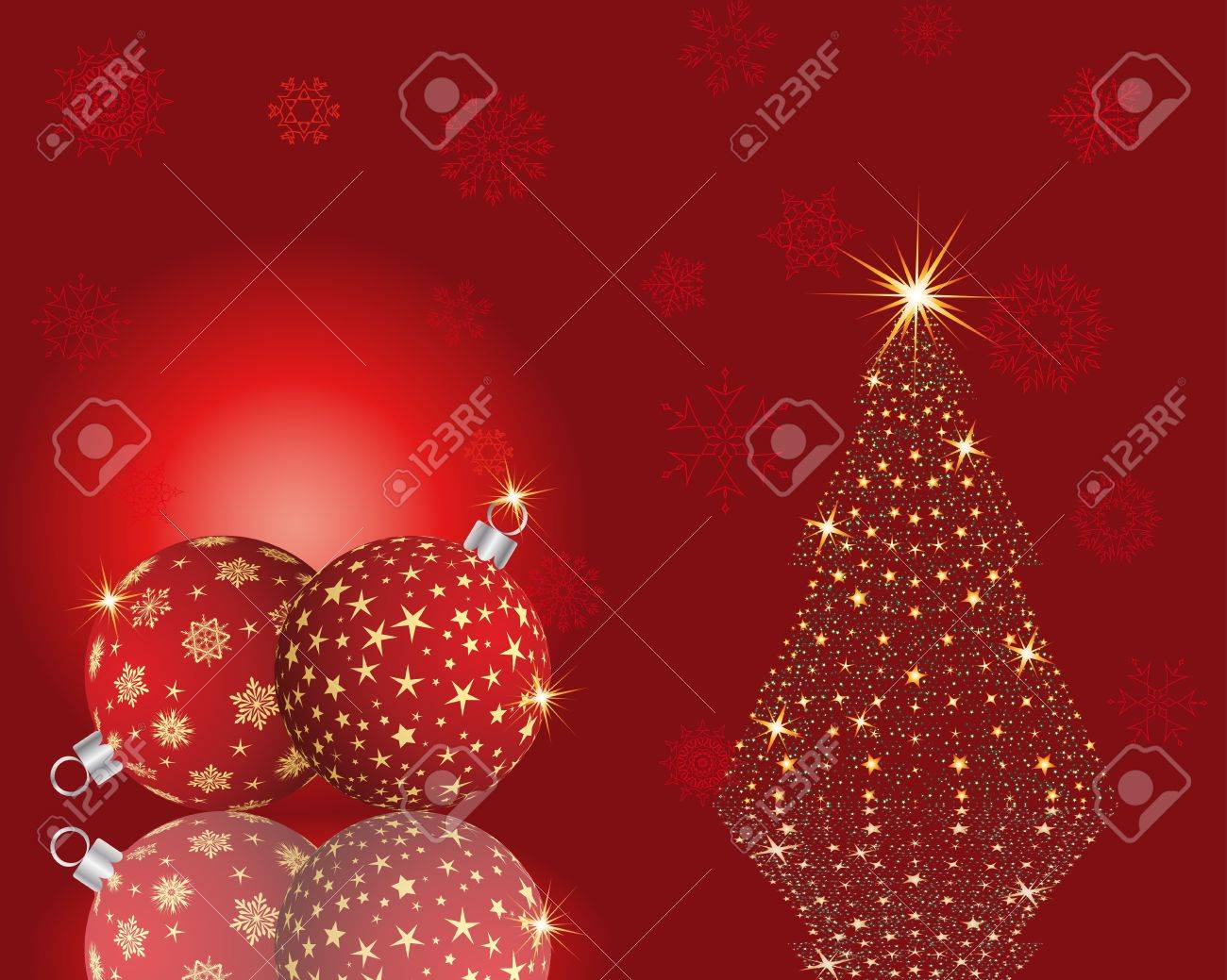 Beautiful Christmas (New Year) card. Vector illustration. Stock Vector - 14898968