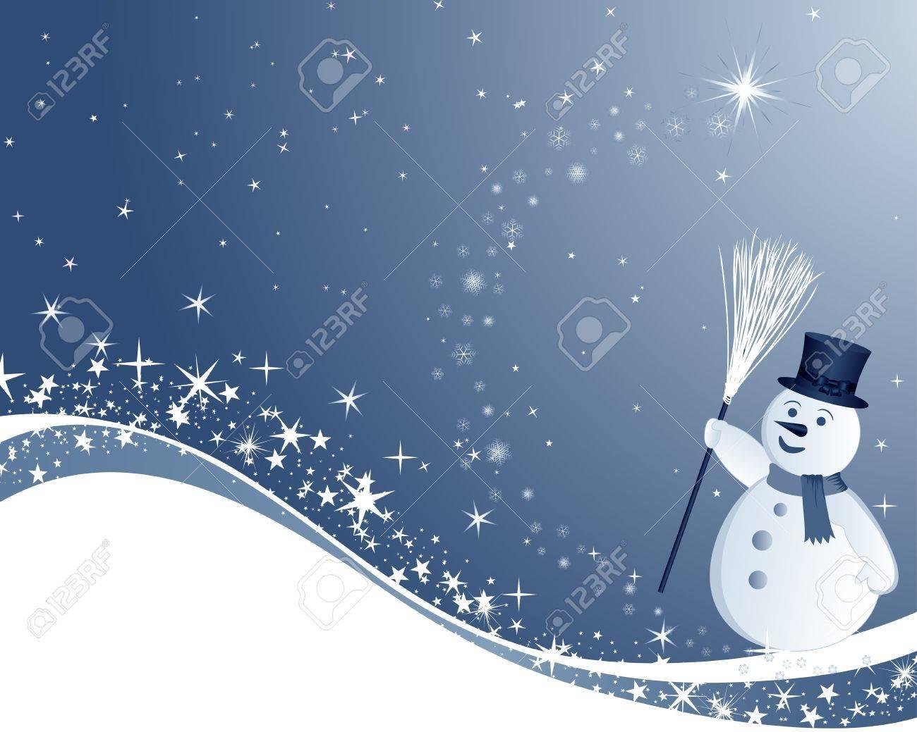 Beautiful Christmas (New Year) card. illustration. Stock Vector - 16641750