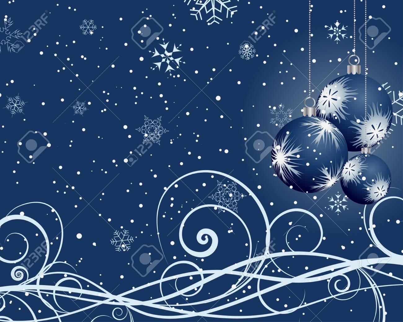 Beautiful Christmas (New Year) card. illustration. Stock Vector - 16641691