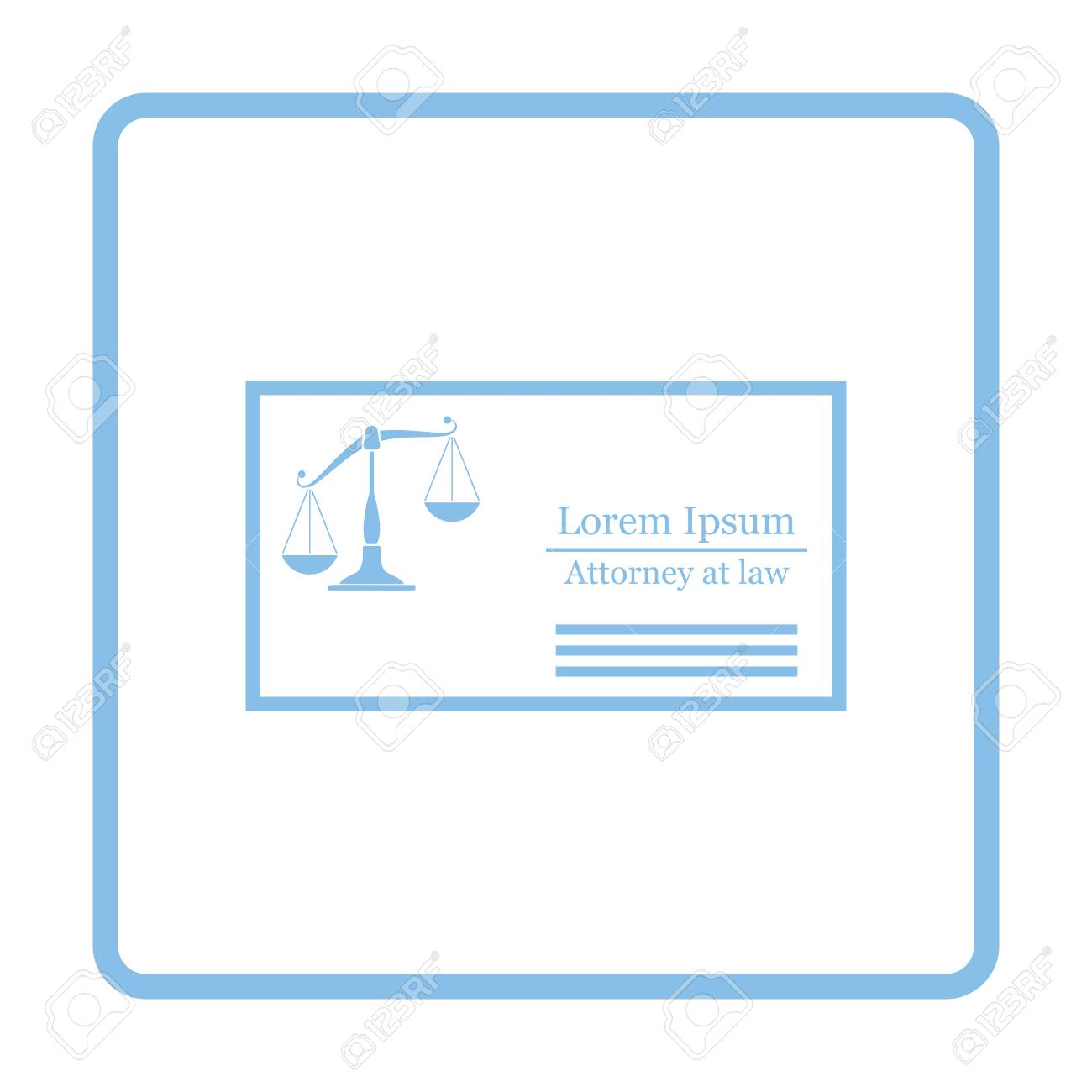 Lawyer business card icon blue frame design vector illustration lawyer business card icon blue frame design vector illustration imagens 70447633 reheart Gallery