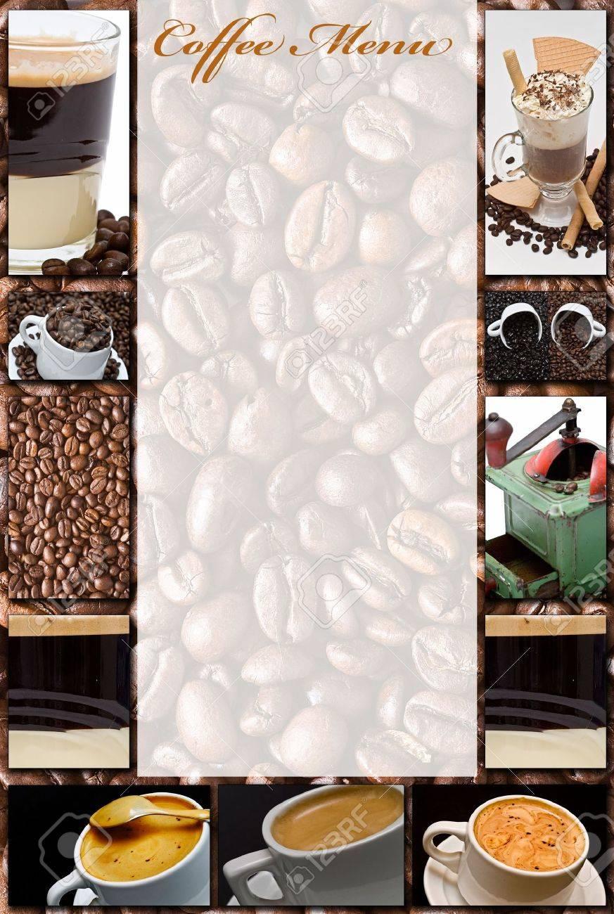 Coffee menu. Stock Photo - 6594524