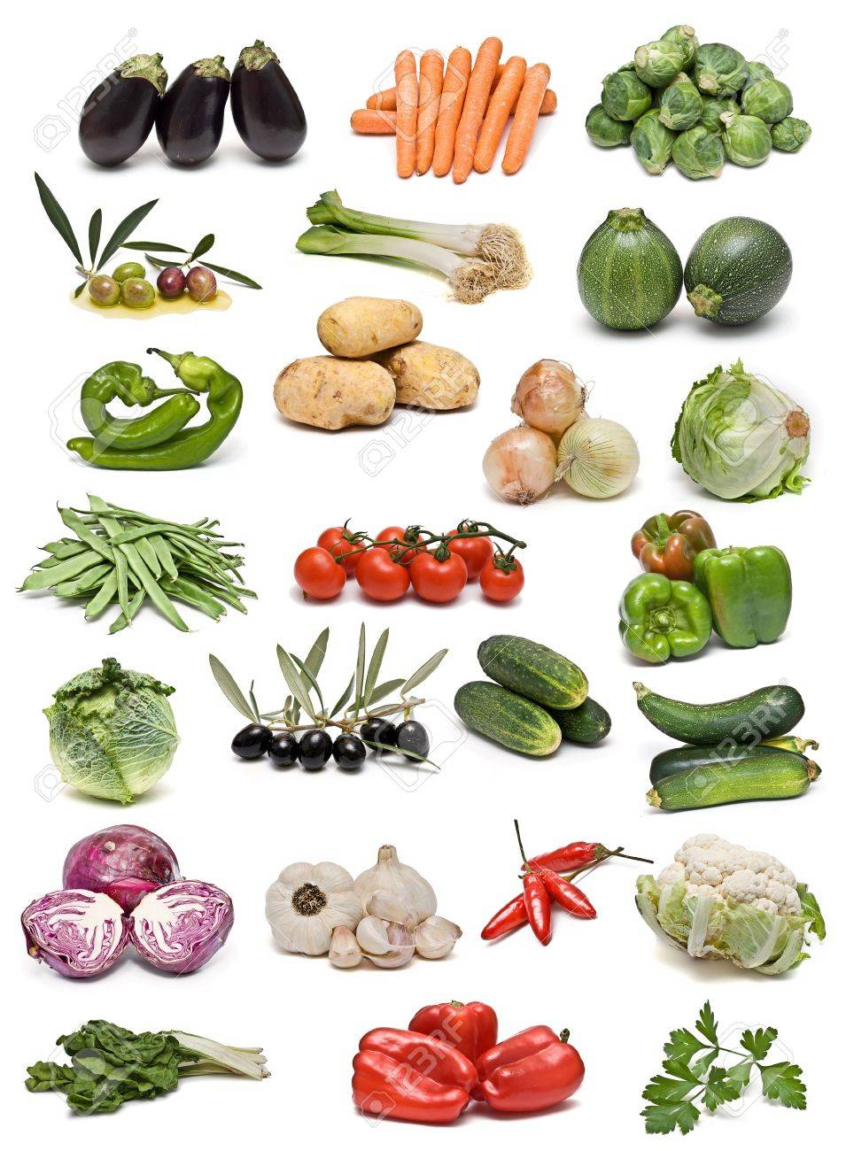Vegetables collection. Stock Photo - 6829707
