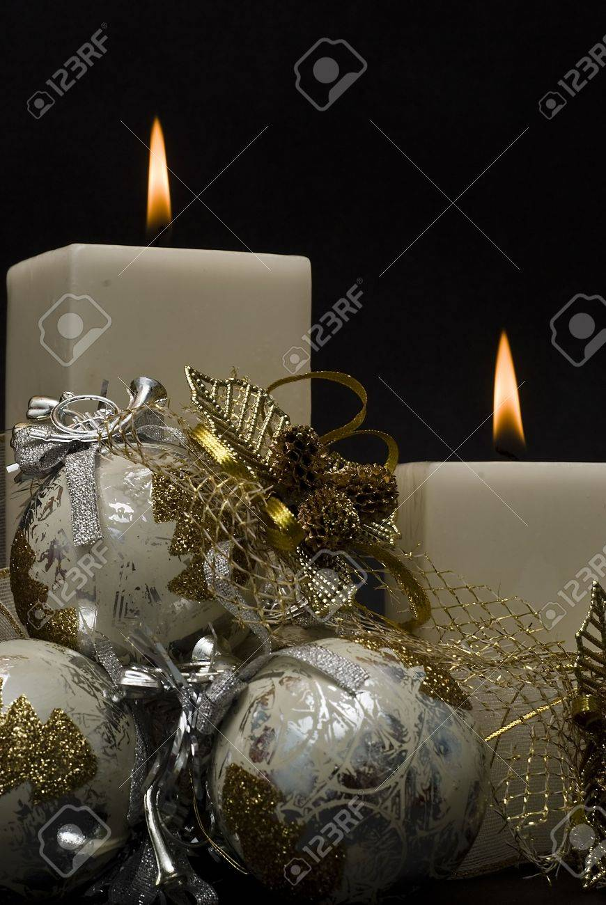 Christmas greeting card. Stock Photo - 7711288