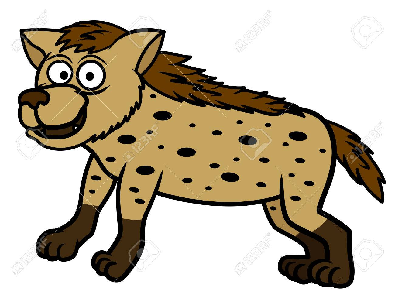 hyena cartoon royalty free cliparts vectors and stock illustration rh 123rf com  baby hyena clipart